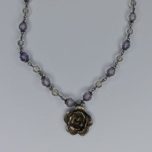 Jewelry - Golden Rose Necklace